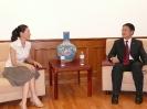 2010年时任中国驻布里斯班总领事任共平接受采访