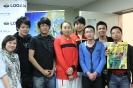 2011年采访中国女篮与澳洲女篮比赛