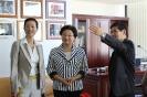 2010年11月中国国务院侨办主任李海峰参观澳华传媒