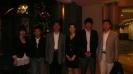 媒体支持2011年亚太电影节与最佳男演员获奖者王宝强和评委、八一电影厂厂长明振江合影